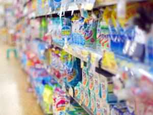 Das Waschmittelangebot ist riesig, aber nicht unbedingt KKA-geeignet (Bild: Tamaki Sono cc-by-2-0)